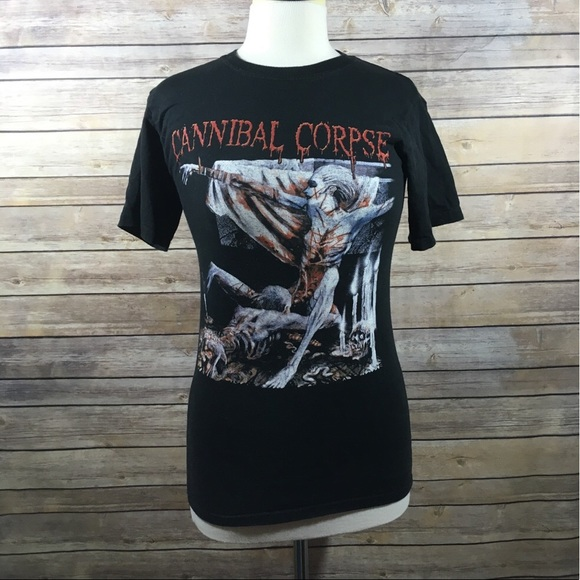 bead3a9753d5a Hanes Other - Cannibal Corpse Tomb Of The Mutilated Band Tee